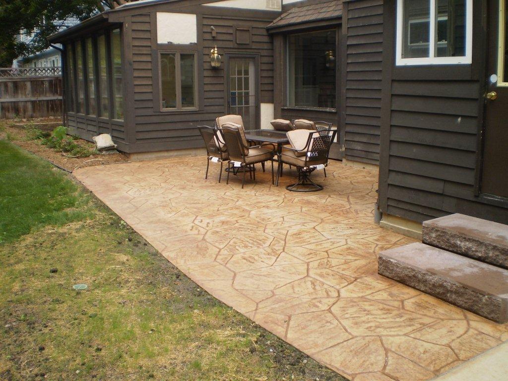 decorative concrete lansing hanneman u0026 fineis concrete construction